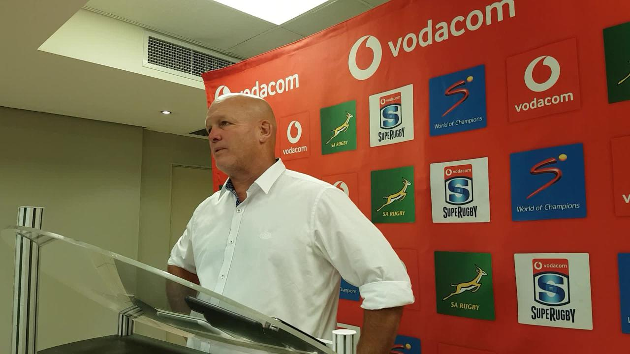 John Dobson post Stormers v Lions press conference