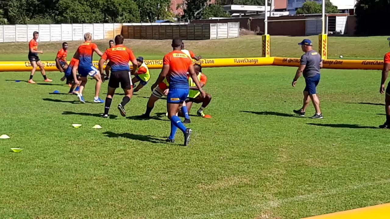 Stormers training