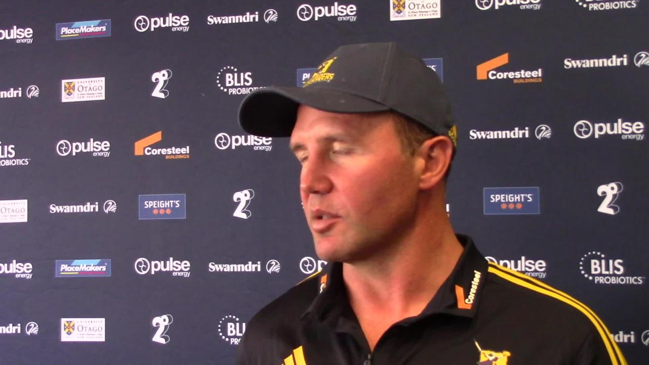 Aaron Mauger Highlanders interview - Crusaders Round Four