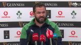 Andy Farrell confident ahead of England clash