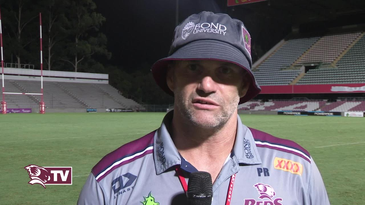 Peter Ryan Interview - Reds v Sunwolves Round Four