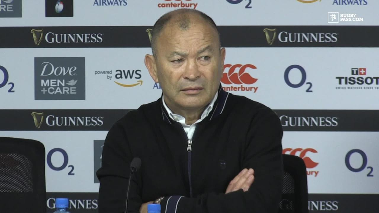 Eddie Jones bites back at his critics from this week