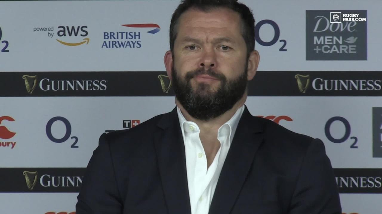 Disappointment palpable in press conference after loss to England in Six Nations
