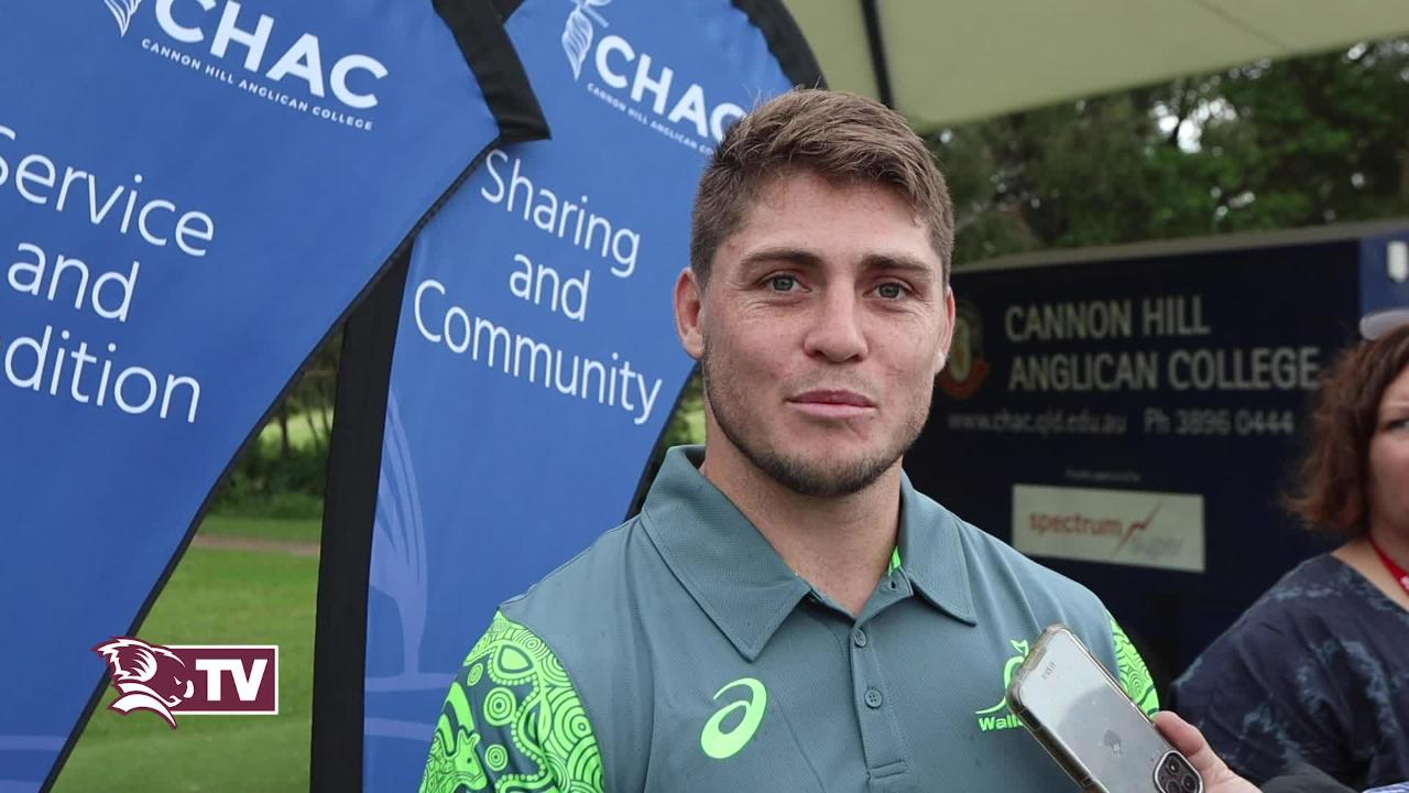 Reds & Wallaby flyhalf James O'Connor interview