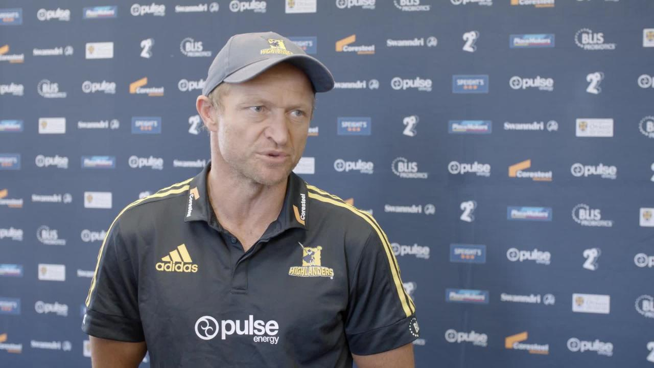 Tony Brown Interview - Highlanders v Rebels Round Fove