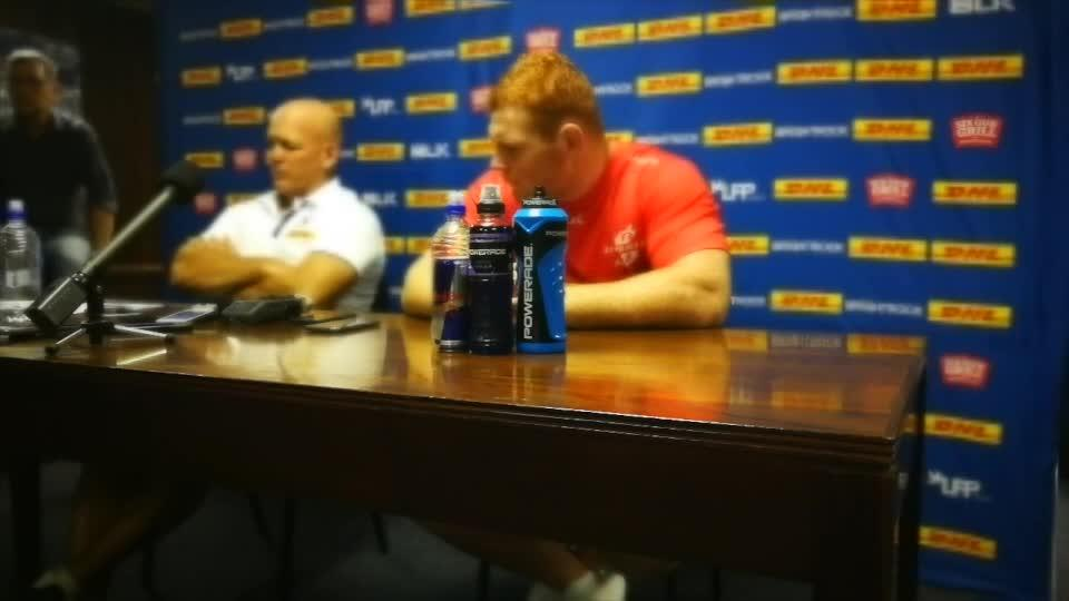 John Dobson pre-match interview - Stormers v Blues Round Five