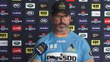 Brumbies vice-captain Locky McCaffrey and coach Dan McKellar - Monday interview