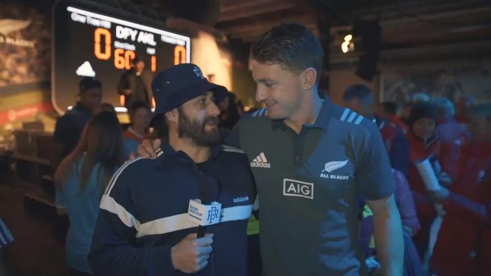 Barrett & Savea Meet & Greet | Sam Smith Reports | 2017 Lions Tour of NZ