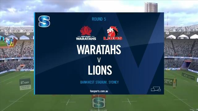 Waratahs vs Lions | Round 5 | Super Rugby Highlights