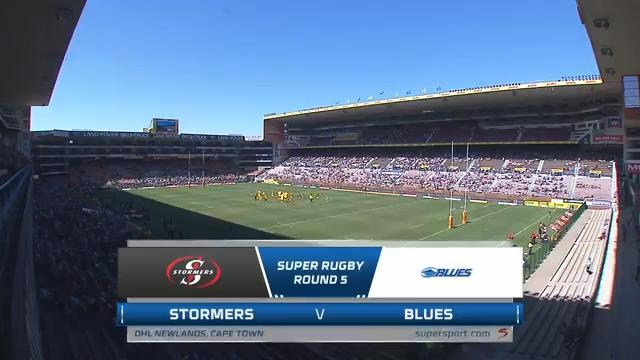 Stormers vs Blues | Round 5 | Super Rugby Highlights