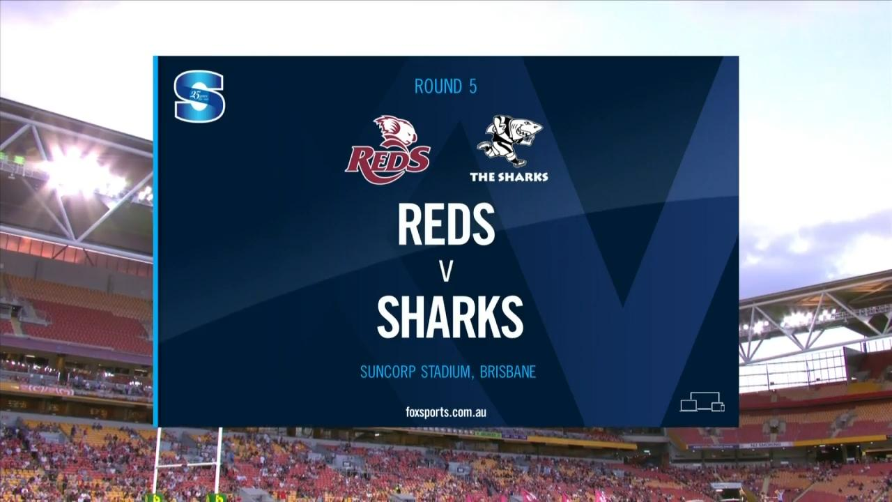Reds vs Sharks | Round 5 | Super Rugby Highlights