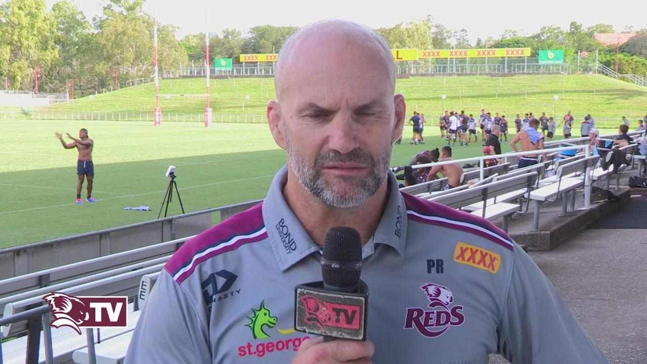 Reds assistant coach Peter Ryan interviewed ahead of Super Rugby Round 6