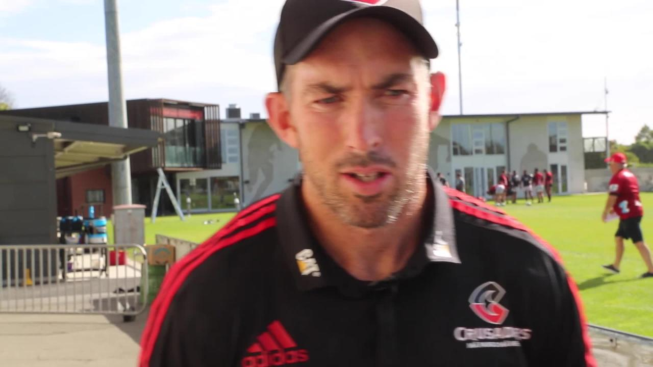 Andrew Goodman on the Crusaders' Round 6 clash with the Reds