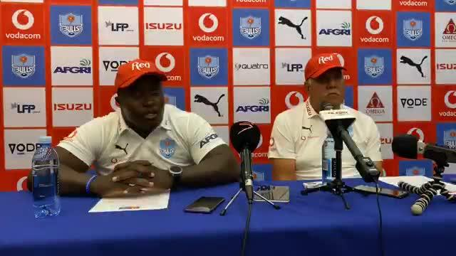 Bulls Press Conference - Highlanders Round Six
