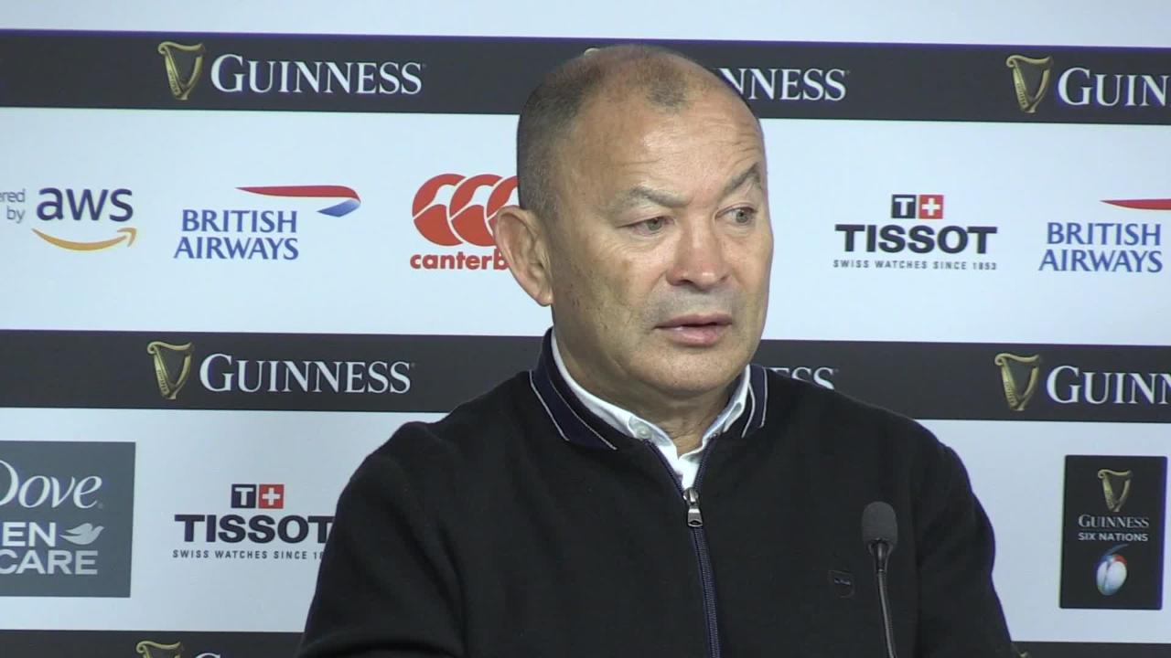 Eddie Jones reacts to England | Tuilagi red card | Marler incident