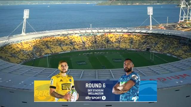 Hurricanes vs Blues I Round 6 I Super Rugby Highlights