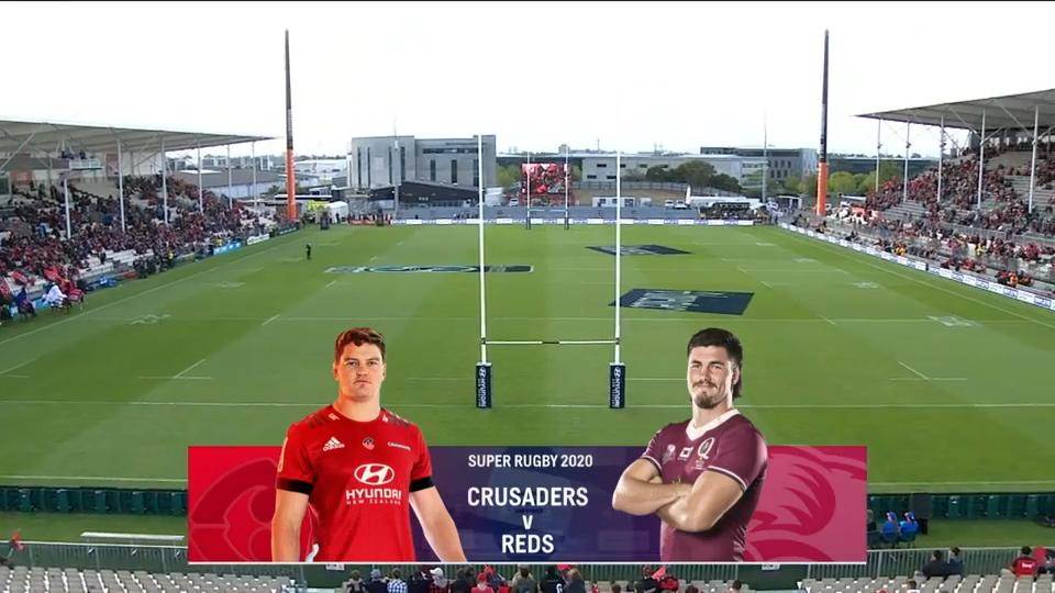 Crusaders vs Reds I Round 6 I Super Rugby Highlights