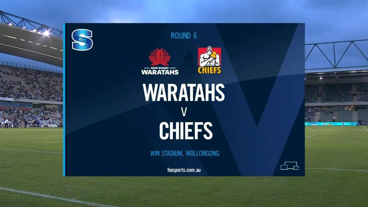 Waratahs vs Chiefs I Round 6 I Super Rugby Highlights