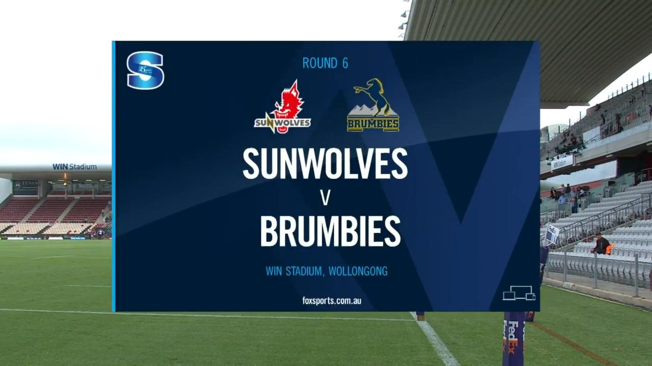 Sunwolves vs Brumbies I Round 6 I Super Rugby Highlights