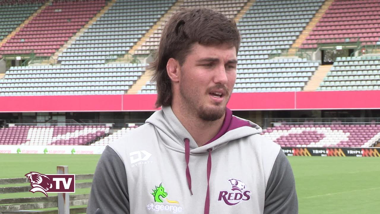 Reds captain Liam Wright - Bulls Week Seven