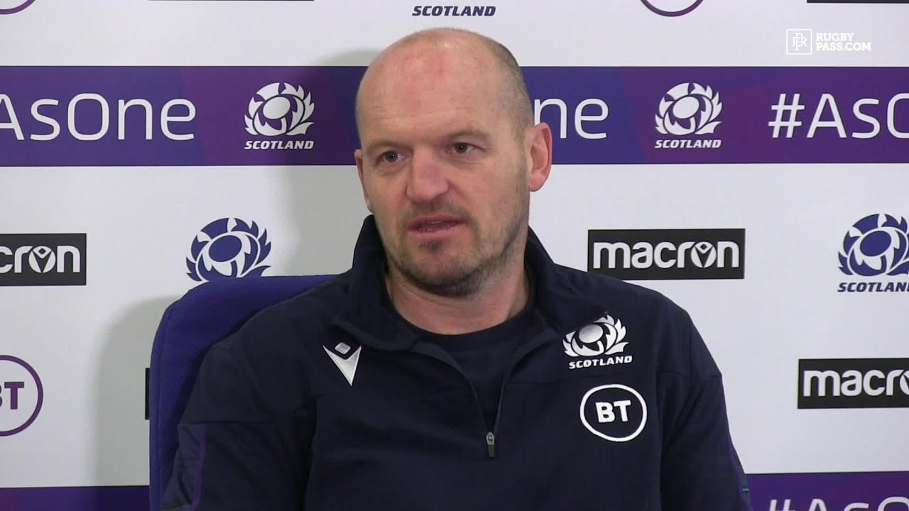 Scottish head coach says player has not contracted coronavirus in Six Nations press conference