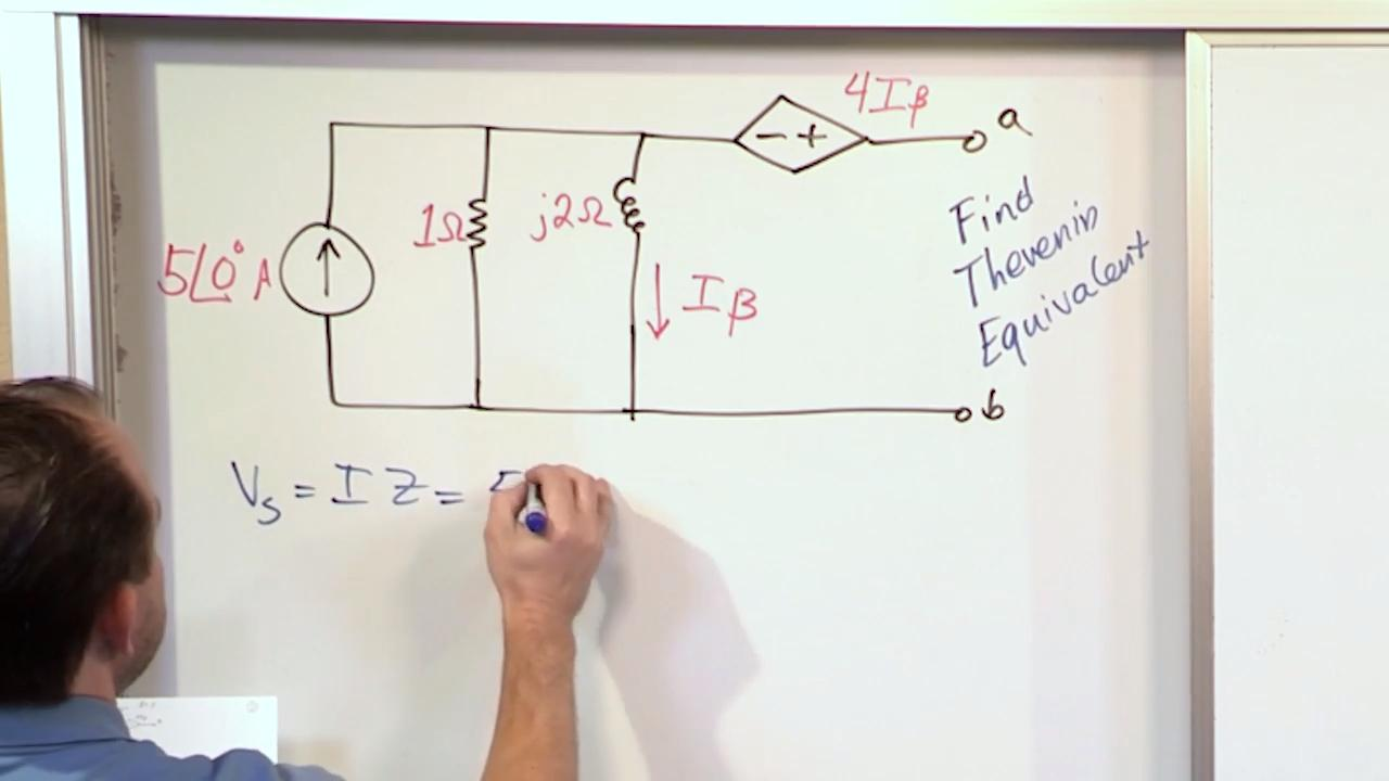Lesson 3 Ac Thevenin Equivalent Circuits Part 2 Hint Consider The Thvenin Circuit