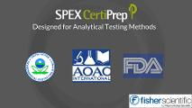 Find out how SPEX CertiPrep pesticide mixes can meet your pesticide residue testing needs.