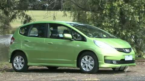 Light Car Mega Test Honda Jazz Wwwcarsalescomau