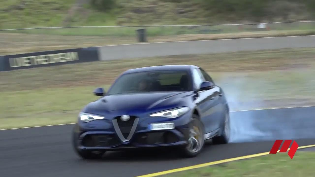 Alfa Romeo Giulia Qv 2017 Local Launch Ignition Timing