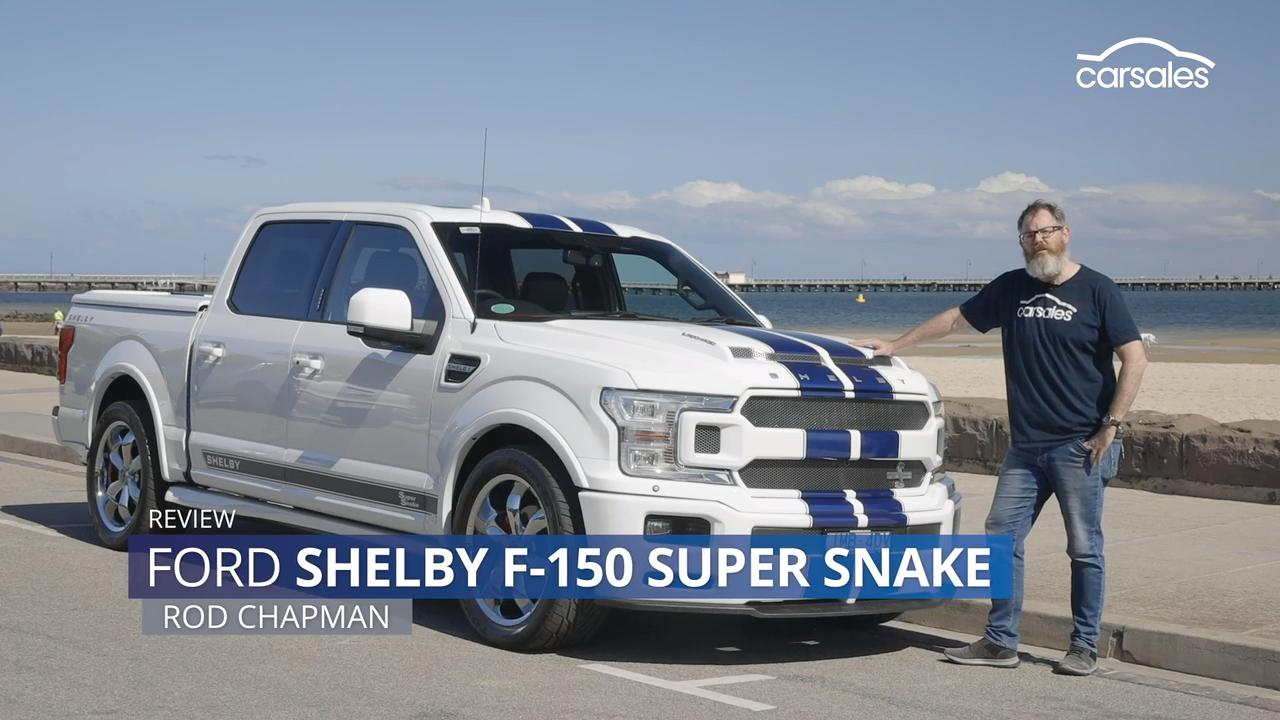 2019 Ford Shelby F 150 Super Snake Review Www Carsales Com Au