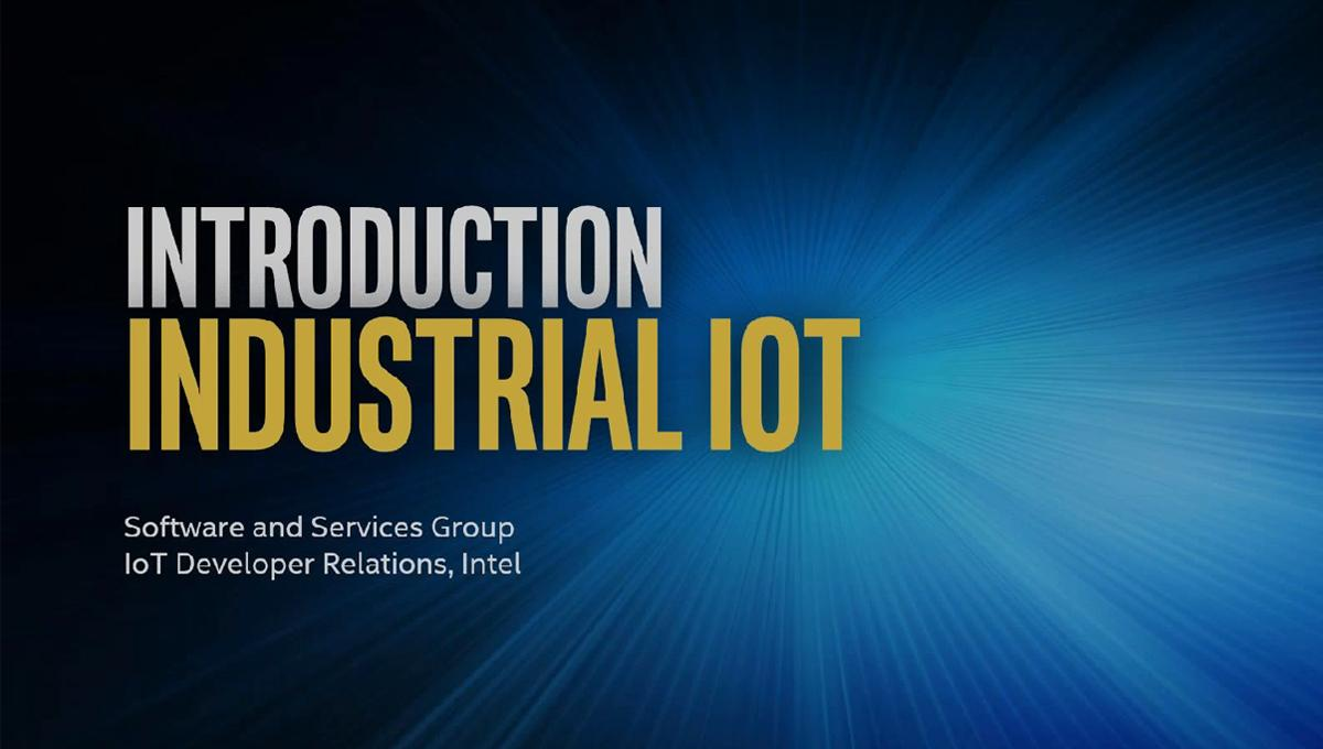 Introduction to IoT in Industry 4 0