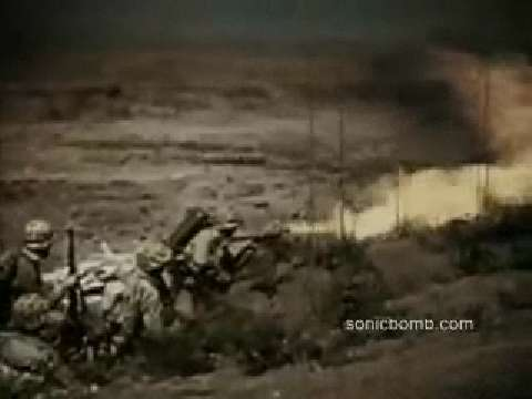 Rare WWII Battle Footage