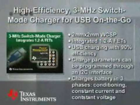bq24150 Switch-Mode Li-Ion Charger
