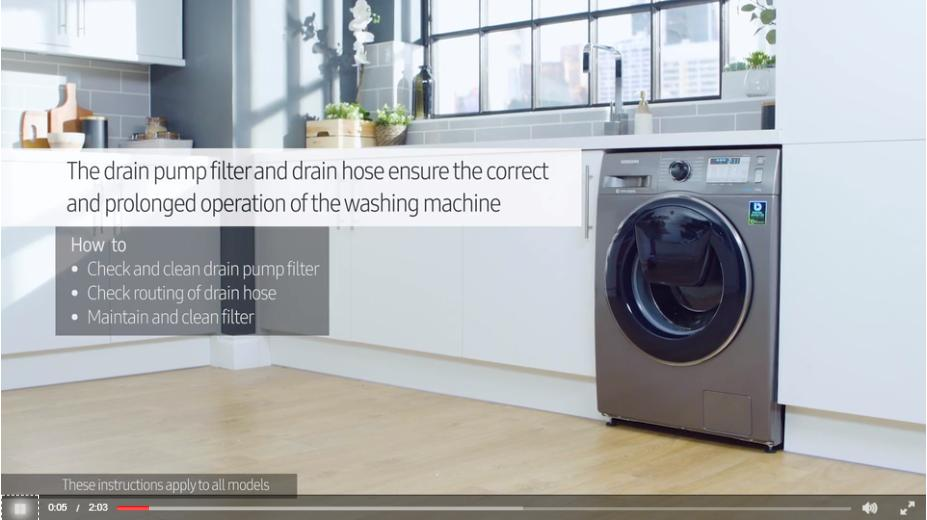 How To Clean Samsung Washing Machine Drain Pipe How to Clean